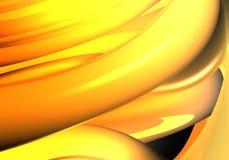 Fundo de Orange&yellow (sumário) ilustração stock