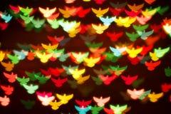Fundo de pássaros coloridos Fotografia de Stock