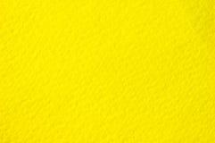 Fundo de papel amarelo Imagem de Stock