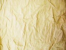 Fundo de papel amarrotado velho da textura Fotos de Stock Royalty Free