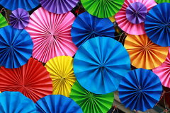 Fundo de papel colorido Imagens de Stock Royalty Free