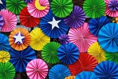 Fundo de papel colorido 2 Fotografia de Stock