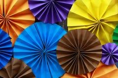 Fundo de papel colorido 3 Foto de Stock