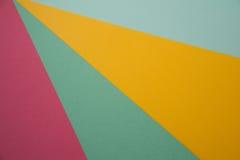 Fundo de papel colorido Imagem de Stock