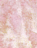 Fundo de papel cor-de-rosa amarrotado vintage com texto Foto de Stock Royalty Free