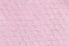 Fundo de papel cor-de-rosa da textura Imagens de Stock Royalty Free