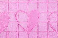 Fundo de papel da textura da amoreira Foto de Stock Royalty Free