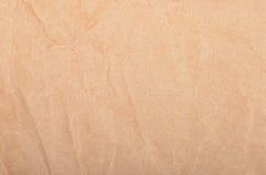 Fundo de papel de empacotamento Wrinkled Imagem de Stock Royalty Free