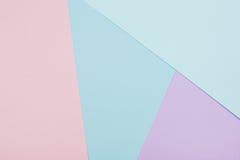 Fundo de papel geométrico abstrato Foto de Stock