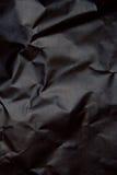 Fundo de papel preto Fotografia de Stock