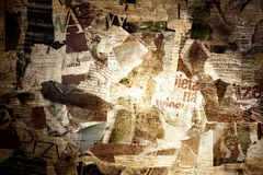 Fundo de papel rasgado beira de Grunge Imagem de Stock