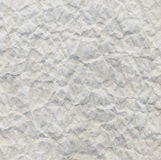 Fundo de papel rippled branco Fotos de Stock