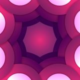 Fundo de papel roxo abstrato das formas redondas Fotografia de Stock Royalty Free