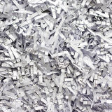 Fundo de papel Shredded Fotografia de Stock Royalty Free