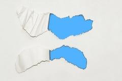 Fundo de papel textured rasgado Fotografia de Stock Royalty Free