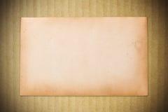 Fundo de papel velho Foto de Stock