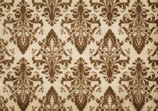 Fundo de papel velho com testes padrões decorativos Fotos de Stock Royalty Free