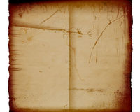 Fundo de papel velho de Grunje Imagens de Stock Royalty Free