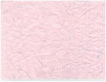 Fundo de papel velho enrugado do teste padrão da textura Foto de Stock Royalty Free