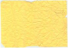 Fundo de papel velho enrugado do teste padrão da textura Fotos de Stock Royalty Free