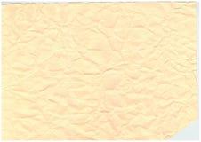 Fundo de papel velho enrugado do teste padrão da textura Fotografia de Stock Royalty Free