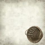 Fundo de papel velho Textured Imagens de Stock