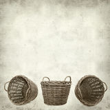 Fundo de papel velho Textured Foto de Stock Royalty Free
