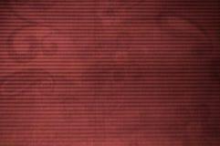 Fundo de papel velho vermelho do sumário do vintage Fotografia de Stock