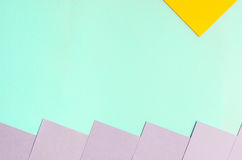 Fundo de papel violeta e amarelo azul Foto de Stock Royalty Free