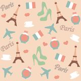 Fundo de Paris Imagens de Stock Royalty Free
