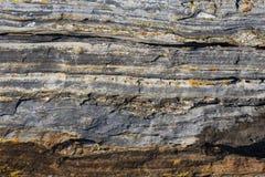 Fundo de pedra abstrato - preto, textura de pedra cinzenta, escura - FO Imagem de Stock