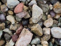 Fundo de pedra colorido da textura Fotos de Stock Royalty Free