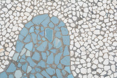 Fundo de pedra do bloco Foto de Stock