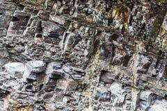 Fundo de pedra do close up da textura Fotografia de Stock