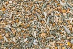 Fundo de pedra do seixo Fotografia de Stock Royalty Free