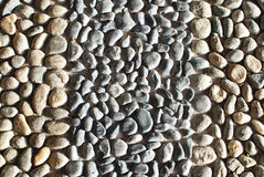 Fundo de pedra do seixo Fotografia de Stock