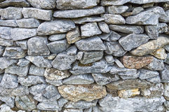 Fundo de pedra do teste padrão da cerca Foto de Stock