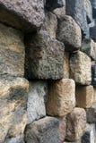 Fundo de pedra do teste padrão da textura Imagens de Stock