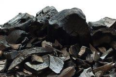 Fundo de pedra mineral de carvão Foto de Stock Royalty Free