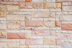Fundo de pedra moderno da parede de tijolo Foto de Stock Royalty Free