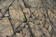Fundo de pedra natural com quebras fotos de stock royalty free