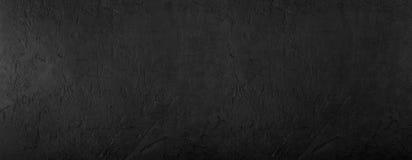 Fundo de pedra preto, textura cinzenta do cimento Vista superior, configuração lisa imagem de stock