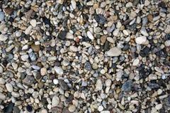 Fundo de pedras do mar Foto de Stock