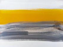 Fundo de pintura da arte azul abstrata fotografia de stock royalty free