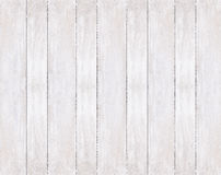 Fundo de placas de madeira brancas pintadas Fotos de Stock