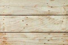 Fundo de placas de madeira velhas do vintage Fotografia de Stock