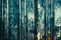 Fundo de placas horizontais de madeira com pintura da casca para o yo Imagens de Stock Royalty Free