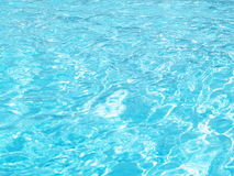 Fundo de Poolwater Fotografia de Stock