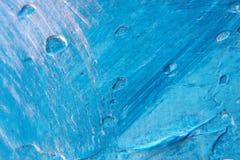Fundo de prata azul abstrato Fotografia de Stock