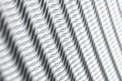 Fundo de prata da estrutura das ondas Papel agradável com espaço para o texto fotografia de stock